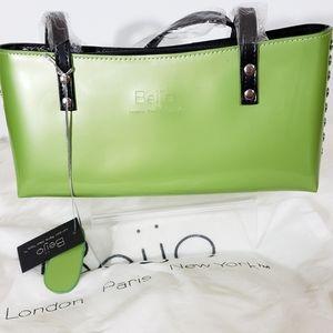 Beijo Lime Green Handbag